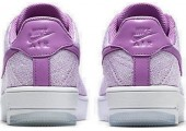 Кроссовки Nike Air Force 1 Ultra Flyknit Low Royal Orchid - Фото 6