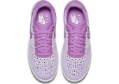 Кроссовки Nike Air Force 1 Ultra Flyknit Low Royal Orchid - Фото 4