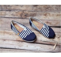 Эспадрильи Toms Classic Blue-White Combination