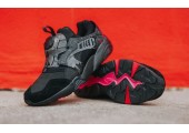 Кроссовки Puma Disk Blaze for Crossover Black/Rose/Red - Фото 2