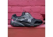 Кроссовки Puma Disk Blaze for Crossover Black/Rose/Red - Фото 1