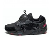 Кроссовки Puma Disk Blaze for Crossover Black/Rose/Red - Фото 3