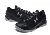 Баскетбольные кроссовки Under Armour Curry Two Low Black - Фото 2