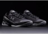 Баскетбольные кроссовки Under Armour Curry Two Low Black - Фото 3