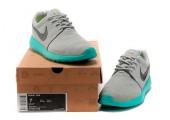 Кроссовки Nike Roshe Run Light Grey/Teal - Фото 7