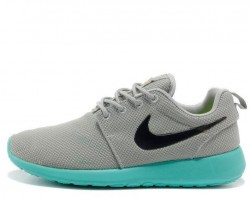 Кроссовки Nike Roshe Run Light Grey/Teal