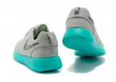 Кроссовки Nike Roshe Run Light Grey/Teal - Фото 5