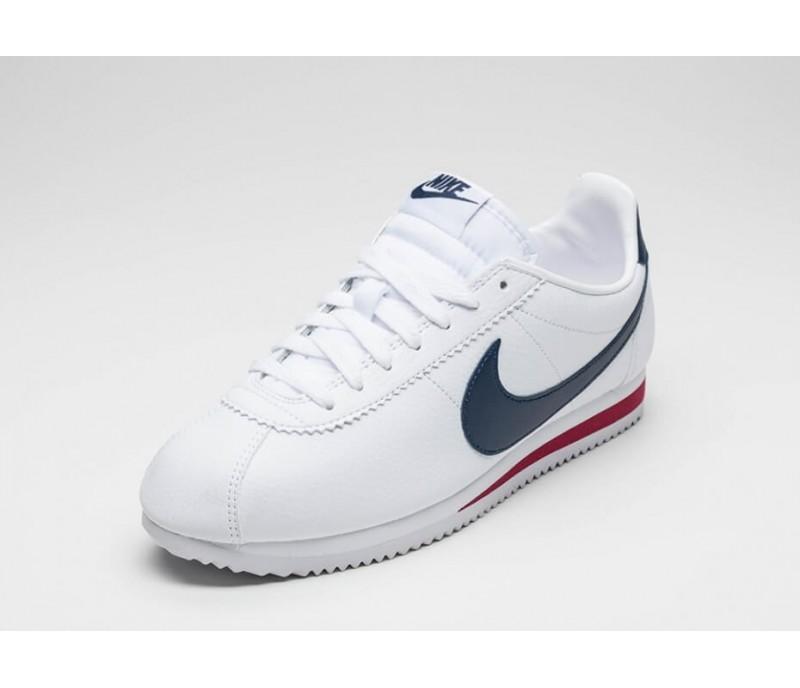fdafe76a Кроссовки Nike Classic Cortez Leather White/Blue/Red купить в Киеве ...