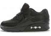 Кроссовки Nike Air Max 90 Premium Black Crocodile - Фото 1