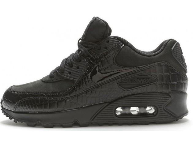 Кроссовки Nike Air Max 90 Premium Black Crocodile