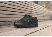 Кроссовки Nike Air Max 90 Premium Black Crocodile - Фото 4