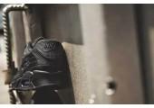 Кроссовки Nike Air Max 90 Premium Black Crocodile - Фото 5