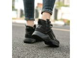 Кроссовки Nike Huarache X Acronym City MID Leather All Black С МЕХОМ - Фото 10