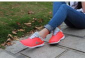 Кроссовки Nike Free Run Pink/Charcoal - Фото 4
