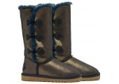 UGG Bailey Button Triplet Nappa Blue Gold - Фото 2