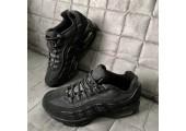 Кроссовки Nike Air Max 95 Triple Black - Фото 2