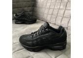 Кроссовки Nike Air Max 95 Triple Black - Фото 4