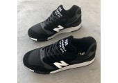 Кроссовки New Balance 998 Ash Black/White - Фото 9