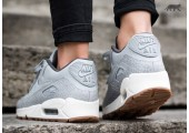 Кроссовки Nike Air Max 90 PRM Wolf Grey/Sail/Midnight Fog - Фото 5