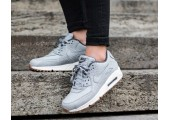 Кроссовки Nike Air Max 90 PRM Wolf Grey/Sail/Midnight Fog - Фото 3