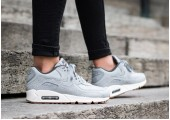 Кроссовки Nike Air Max 90 PRM Wolf Grey/Sail/Midnight Fog - Фото 2