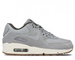 Кроссовки Nike Air Max 90 PRM Wolf Grey/Sail/Midnight Fog