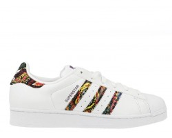 Кроссовки Adidas Superstar White/Multicolor