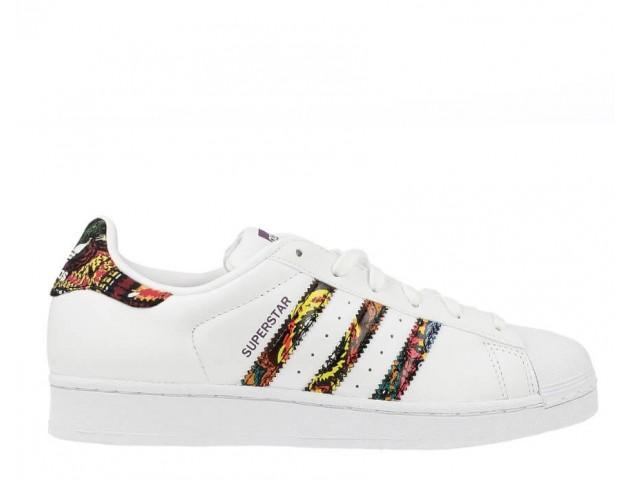 Кроссовки Adidas Superstar White/Multicolor