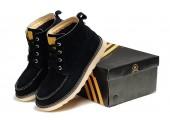 Ботинки Adidas Ransom Original Boot Black Cat С МЕХОМ - Фото 6