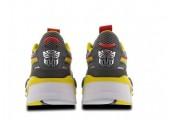 Кроссовки Puma Rs-x X Transformers Bumblebee Quiet Shade/Cyber Yellow/White - Фото 5