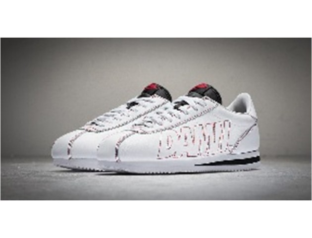 Кроссовки Nike Cortez Premium White/Red