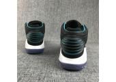 Баскетбольные кроссовки Air Jordan XXX2 Black/Blue - Фото 2