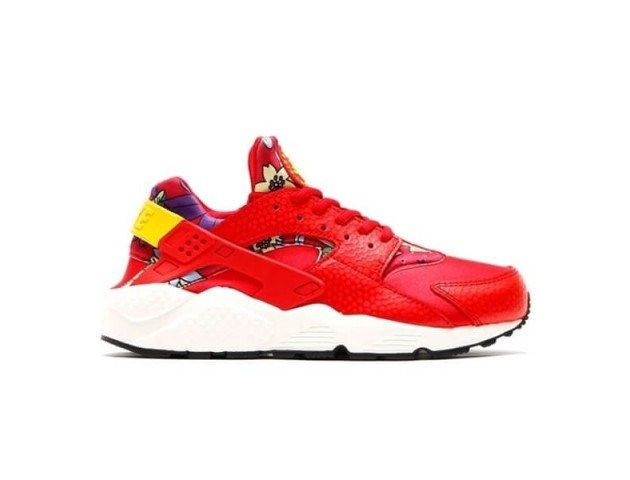 Кроссовки Nike Air Huarache Pack Aloha Red