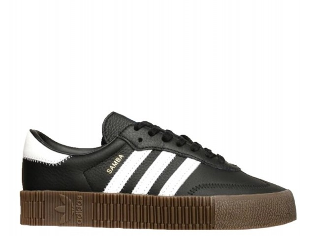 Кроссовки Adidas Originals Samba Black/White