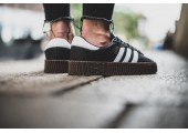 Кроссовки Adidas Originals Samba Black/White - Фото 6