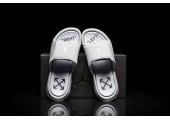 Шлепанцы Off White x Jordan Hydro 6 White - Фото 4