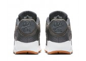 Кроссовки Nike Air Max 90 Premium Dark Grey/Gum Yellow/White - Фото 5