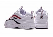 Кроссовки Fila Ray White/Red/Black - Фото 6