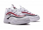 Кроссовки Fila Ray White/Red/Black - Фото 5