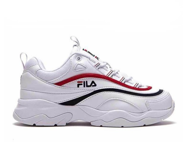 Кроссовки Fila Ray White/Red/Black