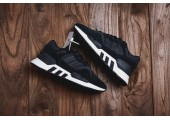 Кроссовки Adidas EQT Support Runner 91/18 Black - Фото 1