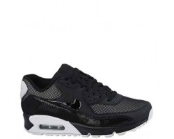 Кроссовки Nike Air Max 90 Premium Black/White & Metallic Silver