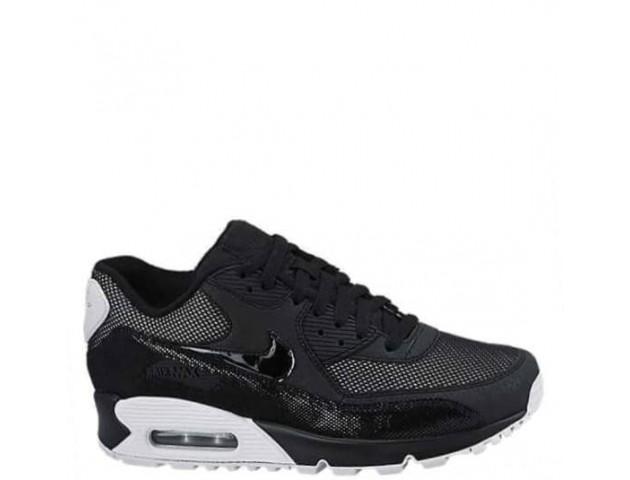 Кроссовки Nike Air Max 90 Premium Black/White & Metallic Silver