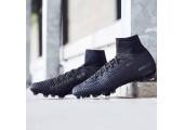 Футбольные бутсы Nike Mercurial Superfly V DF-FG Black - Фото 2