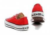Кеды Converse Chuck Taylor All Star Low Red/White - Фото 2