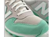 Кроссовки New Balance 996 Grey/Mint Green - Фото 6