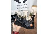 Кроссовки Nike Air Force 1 Low Just Do It Black/White - Фото 1