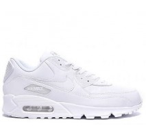 Кроссовки Nike Air Max 90 Leather All White