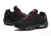 Кроссовки Nike Air Max 95 Essential Black/Red - Фото 3