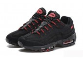 Кроссовки Nike Air Max 95 Essential Black/Red - Фото 2